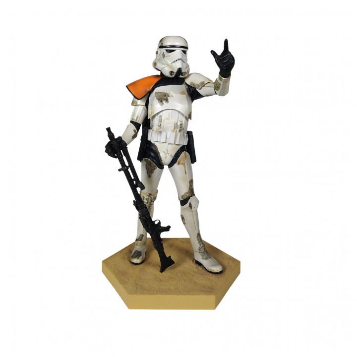 Star Wars Фигурка Имперский песчаный штурмовик