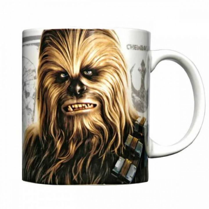 Star Wars Керамическая кружка с изображением Чубакки