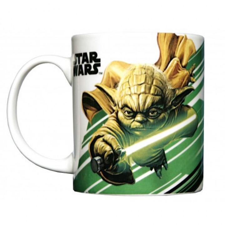 Star Wars Керамическая кружка с изображением магистра Йоды