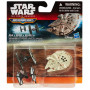 Star Wars The Force Awakens Micro Machine Vehicles First Order Tie Fighter Attack