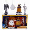 Набор ёлочных игрушек Доктор Кто 4 шт
