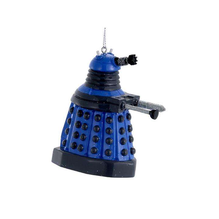 Doctor Who Blue Dalek Robot Ornament