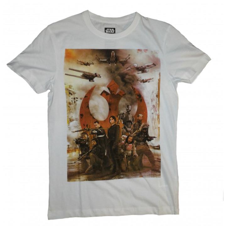 Фирменная футболка по фильму Star Wars Rogue One