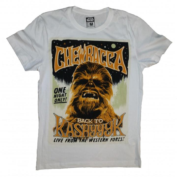 "Фирменная футболка Чубакка с надписью ""Back to Kashyyk"""