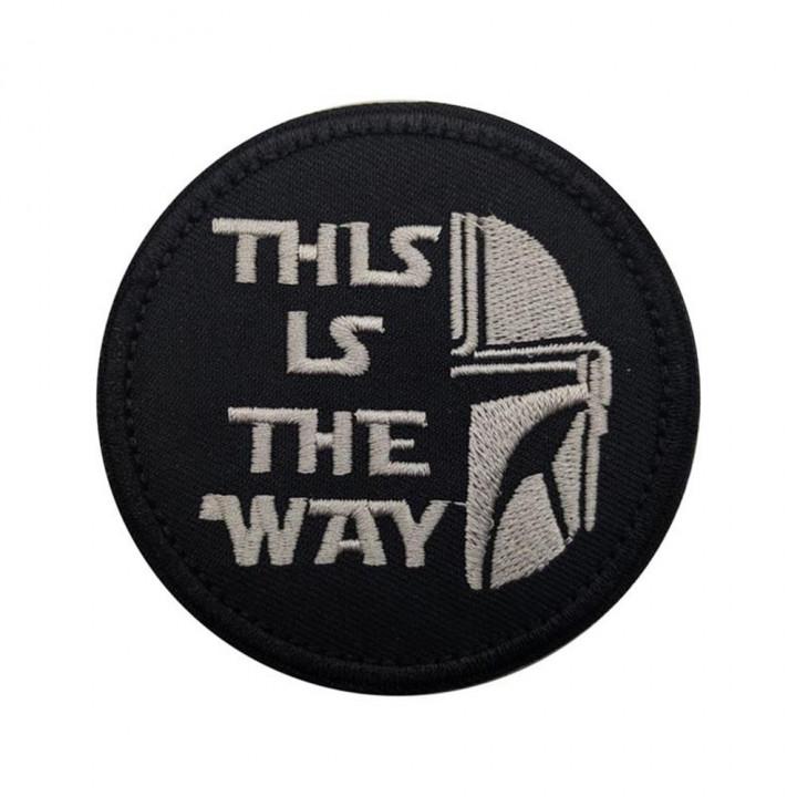 Star Wars Mandalorian Нашивка с липучкой This Is The Way
