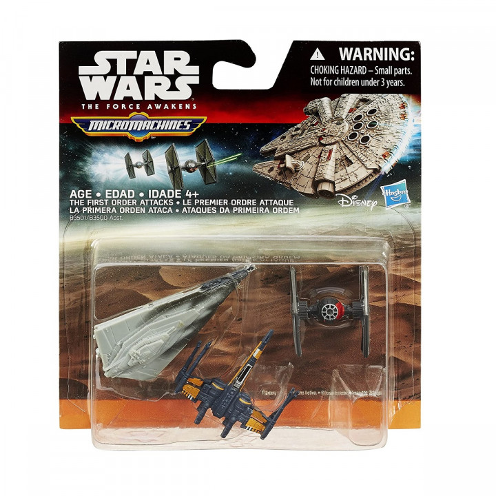 Star Wars The Force Awakens MicroMachine  First Order Attacks