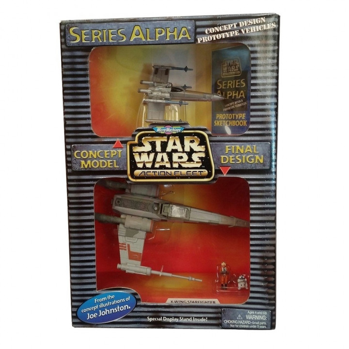 Star Wars Micro Machines Action Fleet Series Alpha X-wing Starfighter