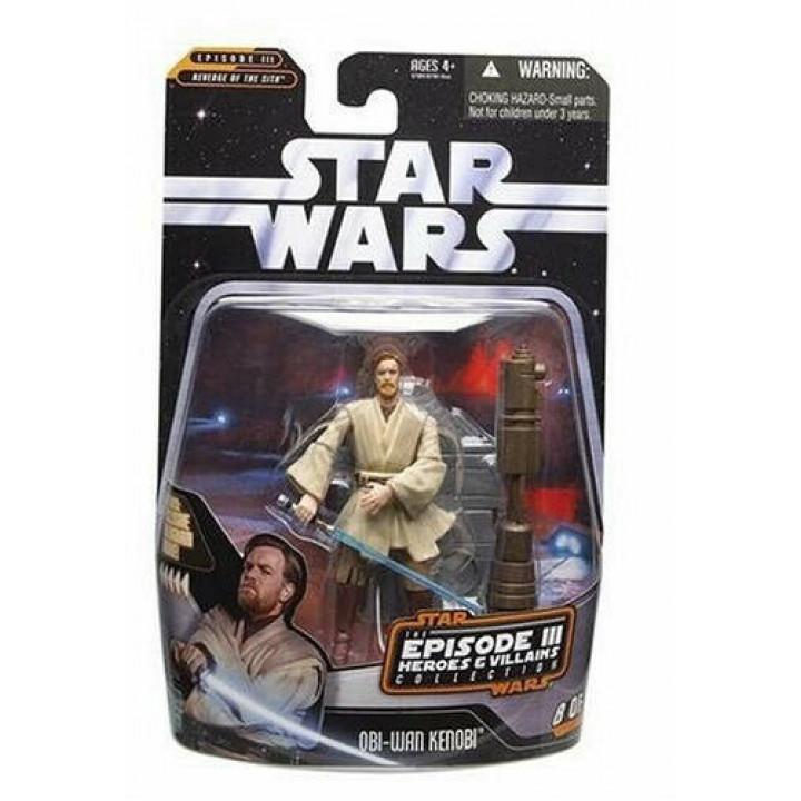 Star Wars Saga Collection Episode III Heroes & Villians Obi-Wan Kenobi