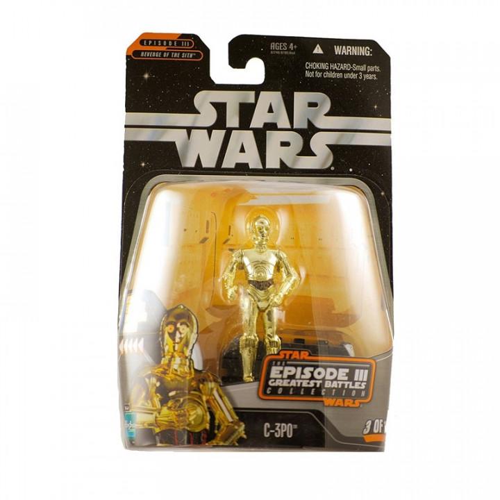 Star Wars Saga Collection C-3PO Episode III Greatest battles collection