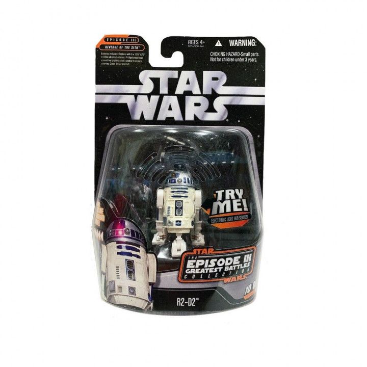Star Wars Saga Collection R2-D2 Episode III Greatest battles collection