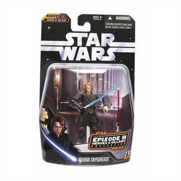 Star Wars Saga Collection Episode III Heroes & Villians Anakin Skywalker