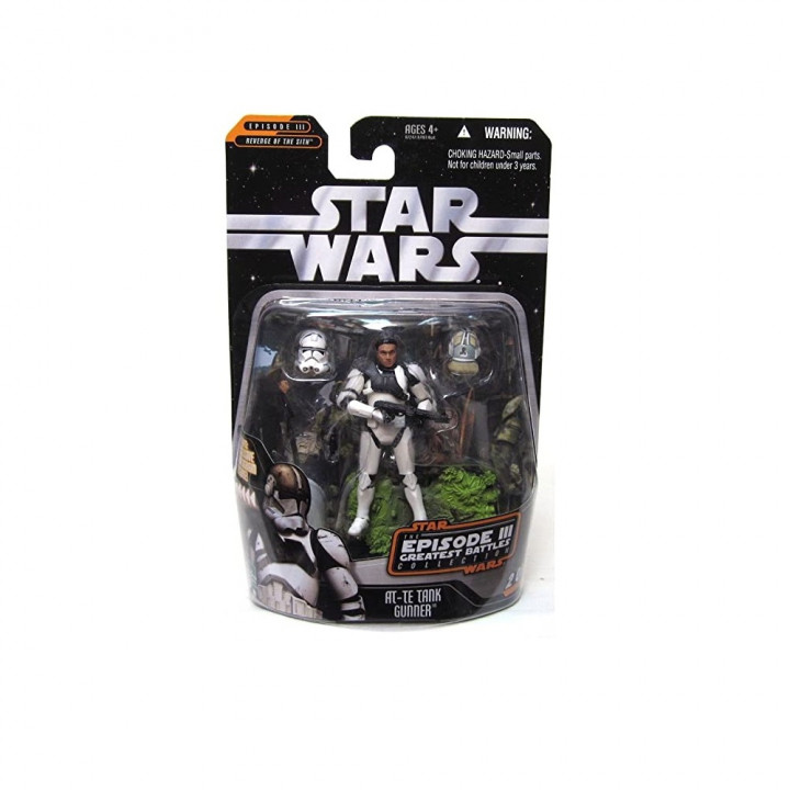 Star Wars Saga Collection Episode III Greatest Battles Collection AT-TE Tank Gunner