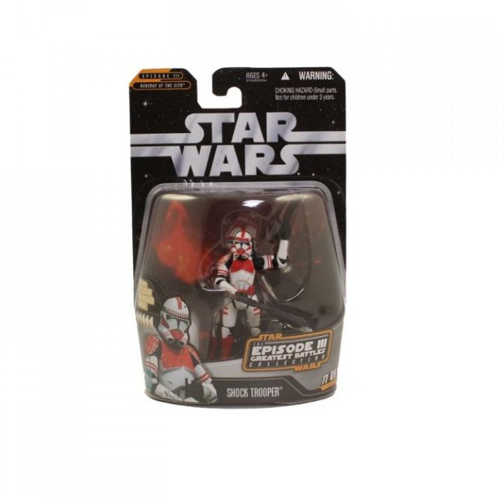 Star Wars Saga Collection Episode III Greatest Battles Collection Shock Troper
