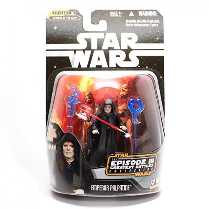 Star Wars Saga Collection Episode III Greatest Battles Emperor Palpatine