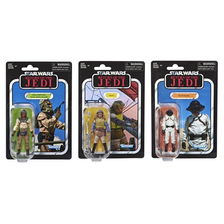 Star Wars Vintage Collection Skiff Guard Three-Pack