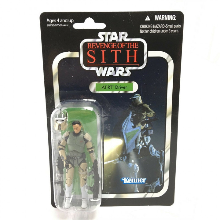 Star Wars The Vintage Collection Фигурка AT-RT Driver