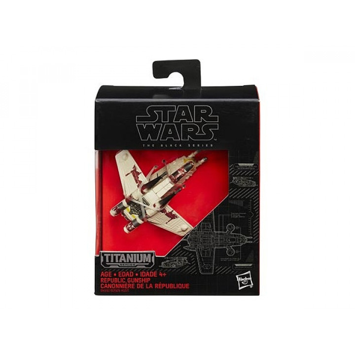 Black Series Die-Cast Vehicle: Republic Gunship