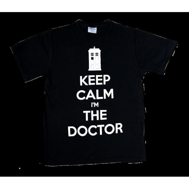 Doctor Who Футболка Keep Calm Im the Doctor